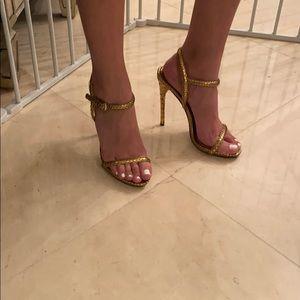 Tom Ford snakeskin sandals